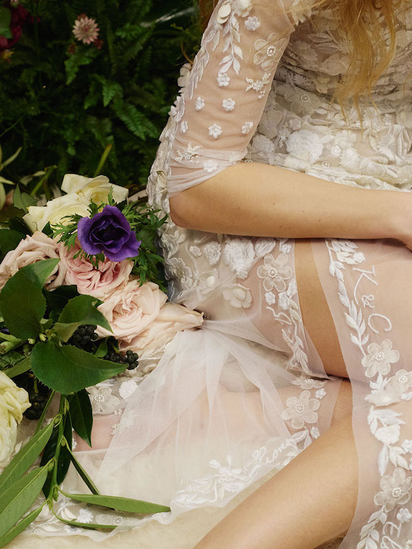 personalise your wedding outfit bride