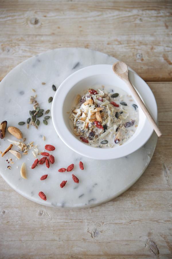 wedding day breakfast muesli recipe daylesford