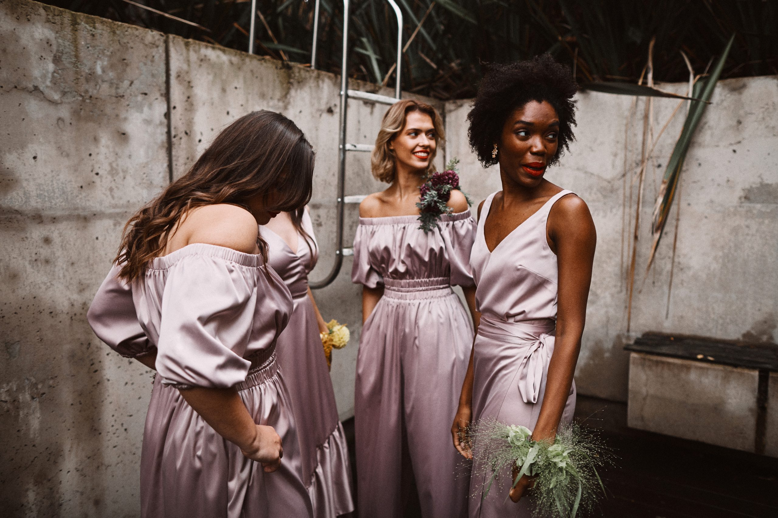 halfpenny bridesmaid, cool bridesmaid dresses, halfpenny bridesmaids, modern bridesmaid dresses